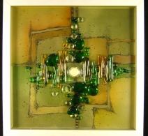 Stiklo paveiksliukas ,  Glass painting  , картина на стекле