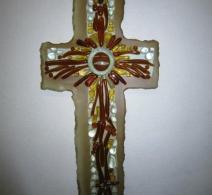 Stilizuotas stiklinis kryžius papuoš Jūsų sodybą