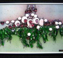 Sala ,  Glass painting  , картина на стекле