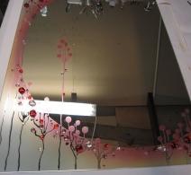 Dekoruotas veidrodis 10 , decorated mirror , Декор на зеркале