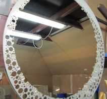 Dekoruotas veidrodis 19 ,decorated mirror , Декор на зеркале
