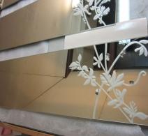Dekoruotas veidrodis 22 , decorated mirror , Декор на зеркале