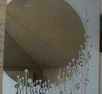 Dekoruotas veidrodis 4 , decorated mirror , Декор на зеркале