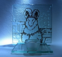 Zodiako ženklas. Žvakidė. Avinas.
